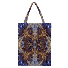 Baroque Fractal Pattern Classic Tote Bag