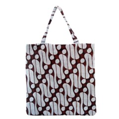 Batik Art Patterns Grocery Tote Bag