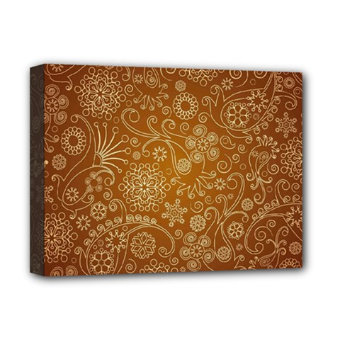 Batik Art Pattern Deluxe Canvas 16  X 12