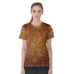 Batik Art Pattern Women s Cotton Tee