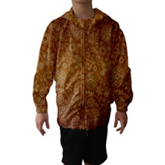 Batik Art Pattern Hooded Wind Breaker (kids)