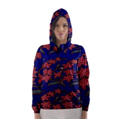 Batik  Fabric Hooded Wind Breaker (women)