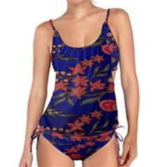Batik  Fabric Tankini Set
