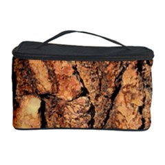 Bark Texture Wood Large Rough Red Wood Outside California Cosmetic Storage Case