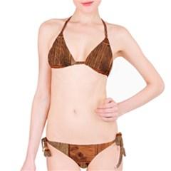 Barnwood Unfinished Bikini Set