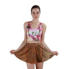 Barnwood Unfinished Mini Skirt