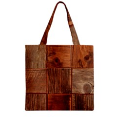 Barnwood Unfinished Grocery Tote Bag