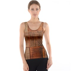 Barnwood Unfinished Tank Top