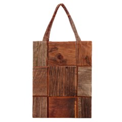 Barnwood Unfinished Classic Tote Bag