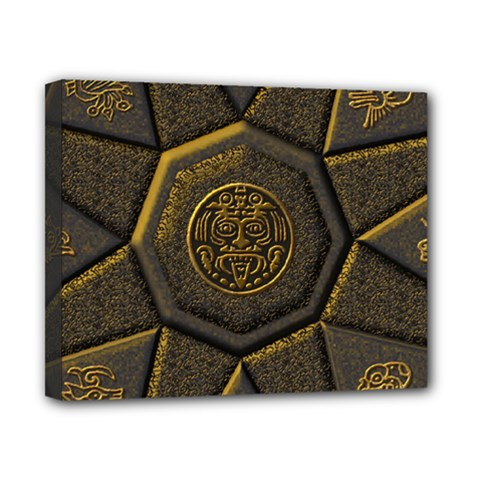 Aztec Runes Canvas 10  X 8