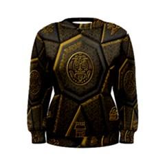 Aztec Runes Women s Sweatshirt