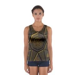 Aztec Runes Sport Tank Top