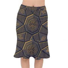 Aztec Runes Mermaid Skirt