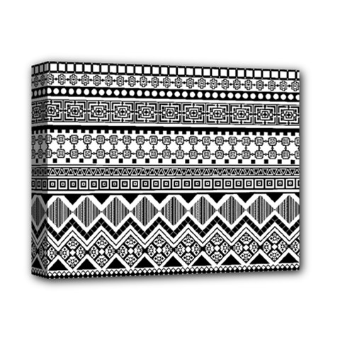 Aztec Pattern Design Deluxe Canvas 14  X 11
