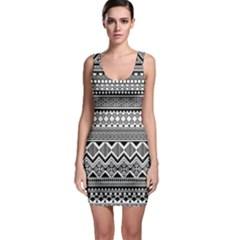 Aztec Pattern Design Bodycon Dress