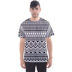 Aztec Pattern Design Men s Sports Mesh Tee