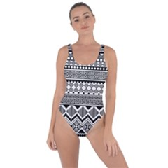 Aztec Pattern Design Bring Sexy Back Swimsuit
