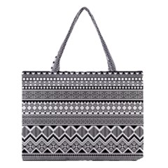 Aztec Pattern Design Medium Tote Bag