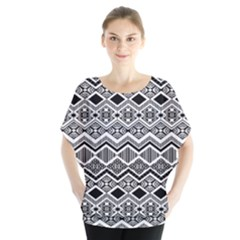 Aztec Design  Pattern Blouse