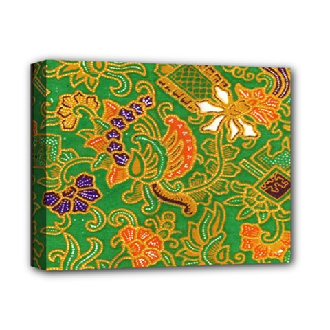 Art Batik The Traditional Fabric Deluxe Canvas 14  X 11