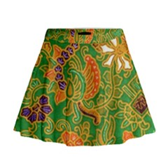 Art Batik The Traditional Fabric Mini Flare Skirt