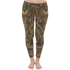 Art Indonesian Batik Classic Winter Leggings