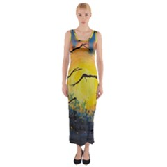 Soul Offering Fitted Maxi Dress