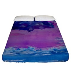 Rising To Touch You Fitted Sheet (king Size)