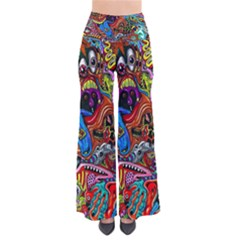 Art Color Dark Detail Monsters Psychedelic Pants