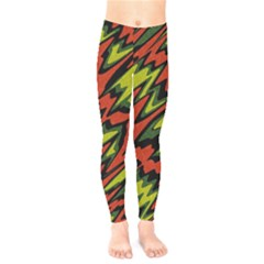 Distorted Shapes                        Kids  Leggings