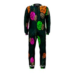Abstract Bug Insect Pattern Onepiece Jumpsuit (kids)