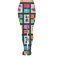 Animal Party Pattern Women s Tights