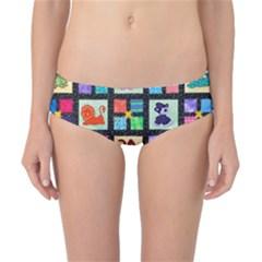 Animal Party Pattern Classic Bikini Bottoms