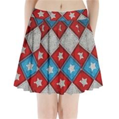 Atar Color Pleated Mini Skirt