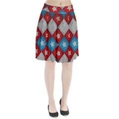 Atar Color Pleated Skirt