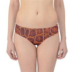 Crocodile Skin Texture Hipster Bikini Bottoms