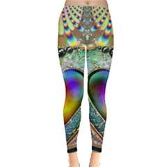 Rainbow Fractal Leggings