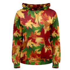 Autumn Leaves Women s Pullover Hoodie