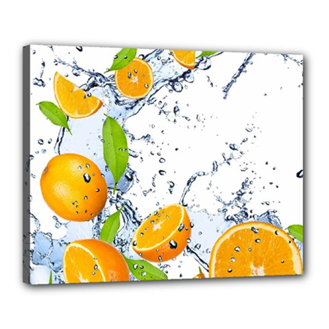 Fruits Water Vegetables Food Canvas 20  X 16