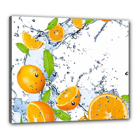 Fruits Water Vegetables Food Canvas 24  X 20