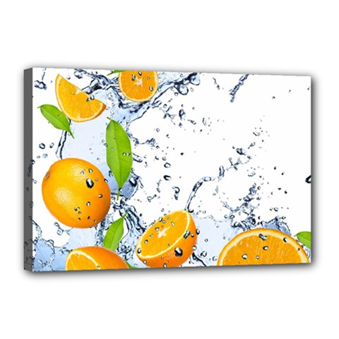 Fruits Water Vegetables Food Canvas 18  X 12