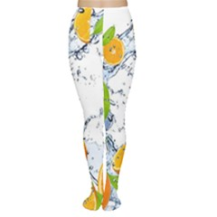 Fruits Water Vegetables Food Women s Tights