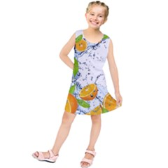 Fruits Water Vegetables Food Kids  Tunic Dress