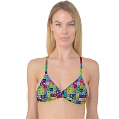Exquisite Icons Collection Vector Reversible Tri Bikini Top