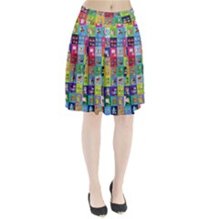 Exquisite Icons Collection Vector Pleated Skirt