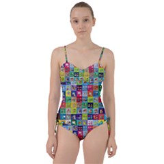 Exquisite Icons Collection Vector Sweetheart Tankini Set