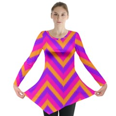 Chevron Long Sleeve Tunic