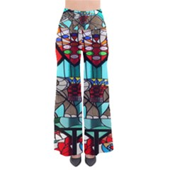 Elephant Stained Glass Pants