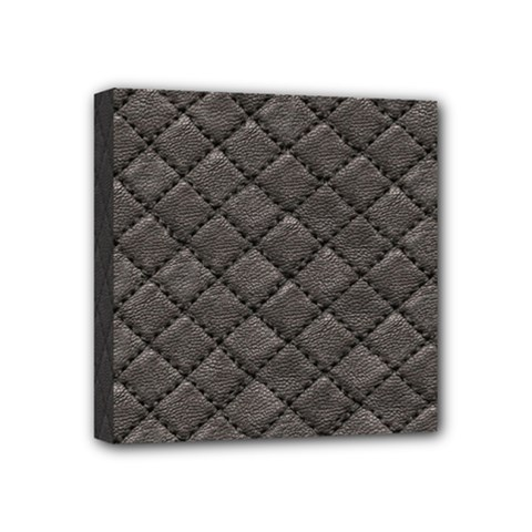 Seamless Leather Texture Pattern Mini Canvas 4  X 4