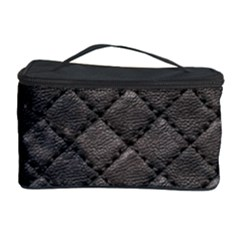 Seamless Leather Texture Pattern Cosmetic Storage Case